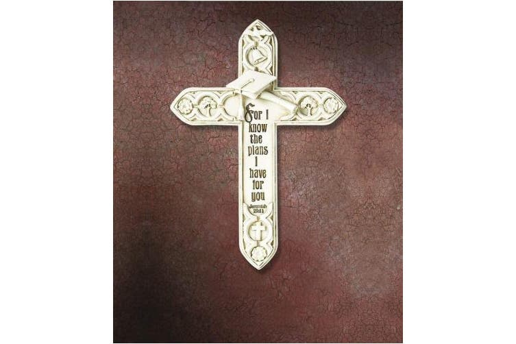 (19cm , Graduation) - Faithworks KS427 Tomaso Gift Boxed Cross, 19cm , Graduation