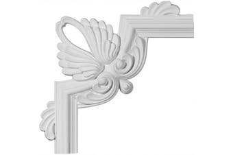 (Corner PML16X16BE) - Ekena Millwork PML16X16BE Bedford Panel Moulding Corner, 42cm x 42cm