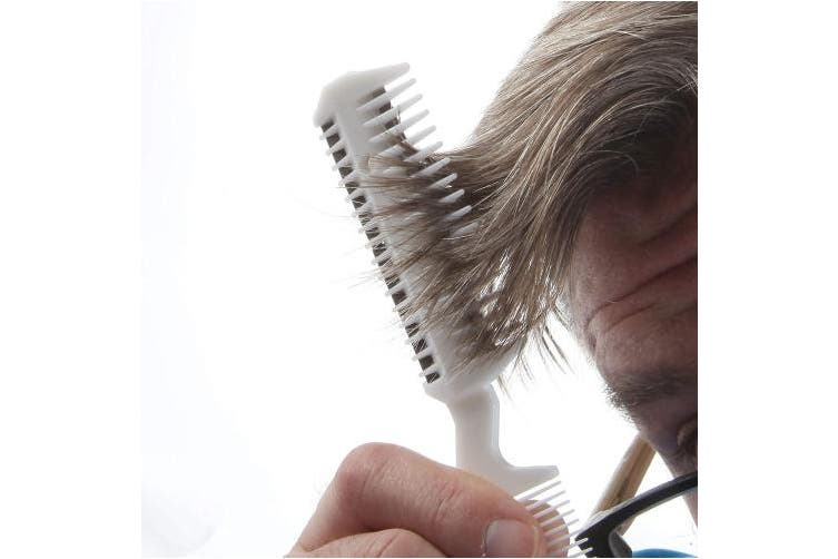 Trenton Gifts Universal Unisex Home Hair Cutting Razor Comb