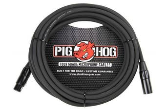 Pig Hog PHM15 High Performance 8mm XLR Microphone Cable, 4.6m