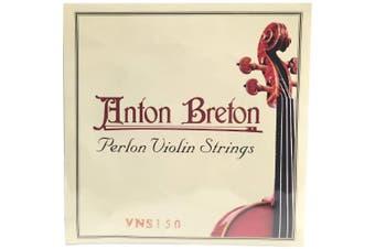 Anton Breton VNS-150 Perlon Violin Strings, 4/4 Size