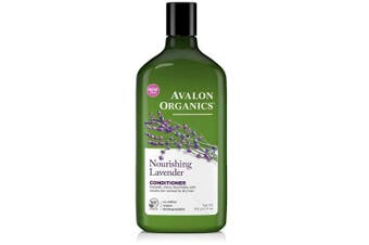 (Conditioner) - Avalon Organics Lavender Nourishing Conditioner 330ml