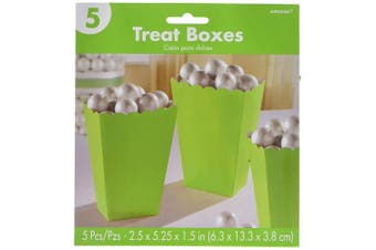 (Green) - Popcorn Boxes, Small | Kiwi | Party Accessory