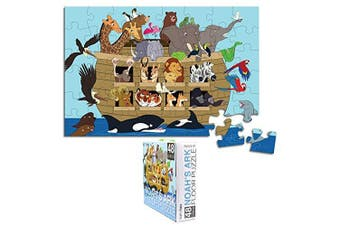 Floor Puzzle for Kids - Noah's Ark - Jumbo Jigsaw Puzzle, Educational Game for Family and Kindergarten, Age 3-5, 48-Piece, . x 0.9m