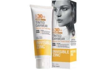 (Medium) - Invisible Zinc Tinted Daywear (Medium) SPF 30+ UVA-UVB 50g