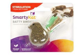 SmartyKat Batty Birdy Compressed Catnip Toy