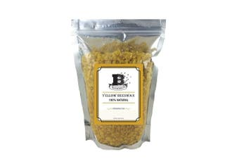 Beesworks 1.4kg- Beeswax Pellets, Yellow, Must Have Item For Do It Yourself Projects, Including Lotions, Salves, Body Butters, Deodorant, Lip Balm, Candle Making