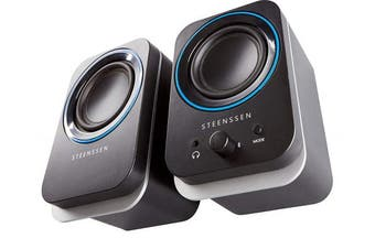 STEENSSEN 2.0 BASE, Bluetooth Speakers, USB Powered, PC Speakers for Gaming, Music, Movies