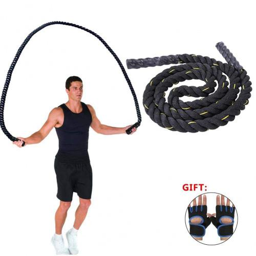40mm x 15m Black /& Green Battle Exercise Battling Ropes Fitness Training Gyms