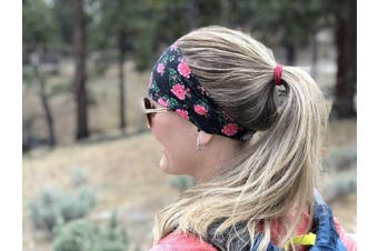 (Faded Glory Stars and Stripes Red White Blue) - Cooling Headbands for Women & Men | Moisture Wicking Sweatband & Sports Headband | Stay Cool During Workouts Cycling Cardio Running Yoga | Headband for Under Helmets & Hats | CoolCore Technology