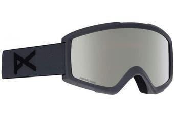 (NA, Stealth/Sonar Silver) - Anon Men's Helix 2 Sonar with Spare Snowboard Goggles, Men