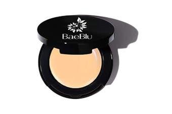 (Golden Sand) - BaeBlu Organic Concealer, FULL Coverage Cover Up, 100% Natural, Made in USA, Golden Sand