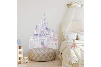 (Princess Castle) - RoomMates Disney Princess Castle Wall Stickers