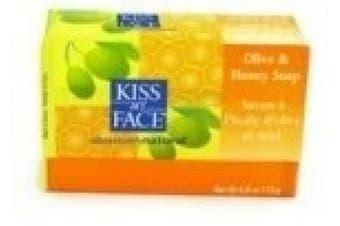 Kiss My Face Bar Soap, 120ml, Pure Olive Oil, Fragrance Free - 1 ea