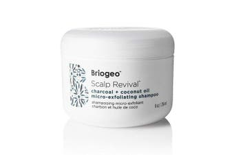 (240mls) - Briogeo - Scalp Revival Charcoal + Coconut Oil Micro-Exfoliating Shampoo - Combats and Prevents a Dry, Flaky, Itchy Scalp, 240ml