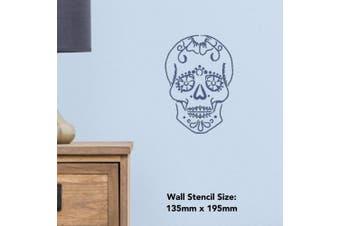 A5 'Sugar Skull' Wall Stencil / Template (WS00004290)