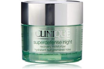 Clinique Superdefense Night Night Cream for Normal or Dry Skins - 50 ml