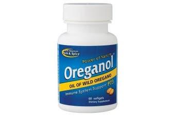 (60) - North American Herb & Spice Co., Oreganol P73, 60 Softgels