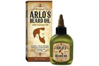 Arlo's Beard Oil with Coconut Oil, 2.5 Fluid Ounce