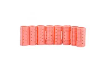 (2.9cm ) - Diane Snap-on Magnetic Rollers, Pink, 2.5cm - 0.3cm , 8/bag