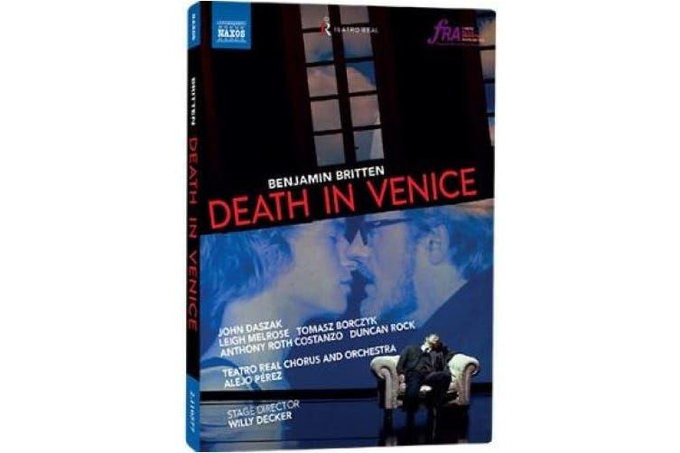 Death in Venice: Teatro Real (Pérez) [Region B] [Blu-ray]