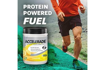 (Lemonade) - PacificHealth Accelerade All Natural Sport Hydration Drink Mix, Net Wt. 0.9kg, 30 Servings