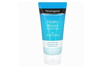 (NA) - Neutrogena Hydro Boost Hydrating Hand Gel Cream with Hyaluronic Acid for Soft, Supple Hands, Light and Non-Greasy, 90ml