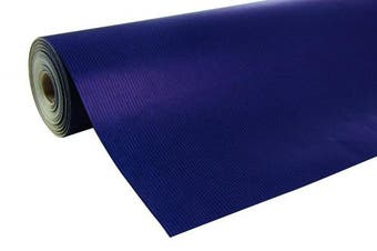 (50 x 0.70 m, Royal Blue) - Clairefontaine 50 m x 0.70 m Nature Kraft Long Roll Wrapping Paper, Royal Blue