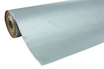 (50 x 0.70 m, Silver) - Clairefontaine 50 m x 0.70 m Nature Kraft Long Roll Wrapping Paper, Silver