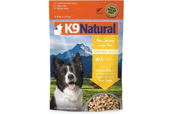 (Chicken, 520ml) - K9 Natural Freeze Dried Dog Food Or Topper Perfect Grain Free, Healthy, Hypoallergenic Limited Ingredients Booster for All Dog Types - Raw, Freeze Dried Mixer