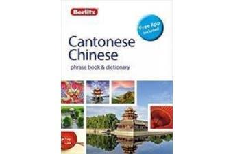 Berlitz Phrase Book & Dictionary Cantonese Chinese(Bilingual dictionary) (Berlitz Phrasebooks)