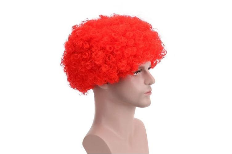 Red Fluffy Afro Synthetic Clown Wig For Men Women Cosplay Anime Party Christmas Halloween Fancy Funny Wigs Red Kogan Com