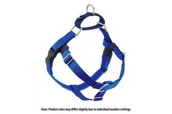 (Royal Blue) - 2 Hounds Design Freedom No-Pull No Leash Harness Only, 1.6cm , X-Small