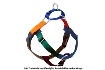 (Small, Jelly Bean) - 2 Hounds Design Freedom No-Pull Dog Harness, Adjustable Comfortable Control for Dog Walking, Made in USA (Leash Sold Separately) (1.6cm )