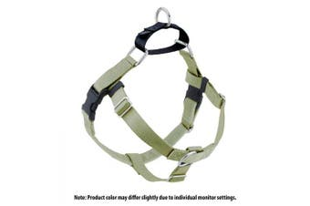 (Tan) - 2 Hounds Design Freedom No-Pull No Leash Harness Only, 2.5cm , Medium