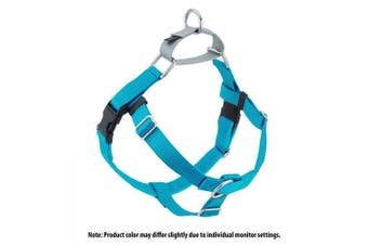 (Turquoise) - 2 Hounds Design Freedom No-Pull No Leash Harness Only, 2.5cm , 2X-Large