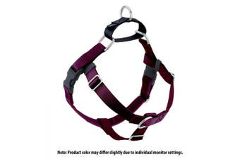 (Burgundy) - 2 Hounds Design Freedom No-Pull No Leash Harness Only, 2.5cm , X-Large