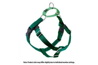 (Kelly Green) - 2 Hounds Design Freedom No-Pull No Leash Harness Only, 1.6cm , Medium