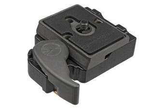(Manfrotto 323 Quick Release Plate) - UTEBIT 323 Quick Release Plate with QR Clamp and 0.6cm - 1cm Screw Adapter Compatible for manfrotto 200PL-14 and 323 RC2 496RC, 498RC2, 804RC2