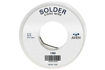 Aven 17553 Solder, 60% Tin/40% Lead Combination, 100 g, 1.2 mm
