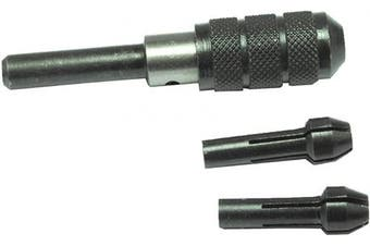 Pin Chuck Vise Set With 3 Collets to Hold Small Twist Drill Bits from Sizes 0 to 2.5 mm Jewellery Making Tool