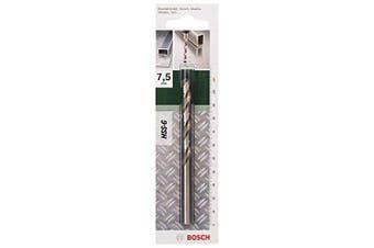 (7,5 mm) - Bosch DIY 2609255051 Metal Drill Bit HSS-G 7.5 x 69 x 109 (1)