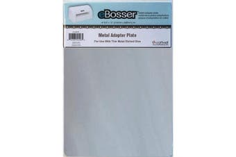 (For Use W/Thin Metal Etched Dies) - Craftwell USA Metal Adapter Plate for eBosser Die Cutter