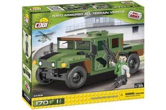 COBI COB24306 US & NATO - 1:35 Armoured Jungle (170 Pcs) Toy, Various