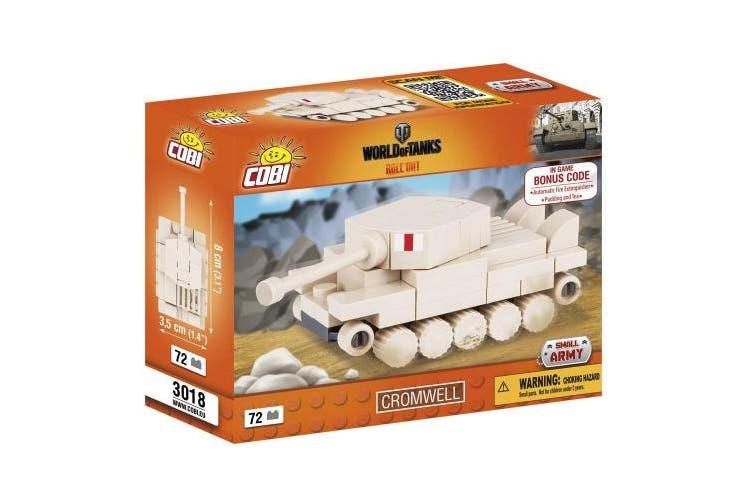 COBI COB03016 World Nano Tank Leopard 1 (70 Pcs) Toy, Various