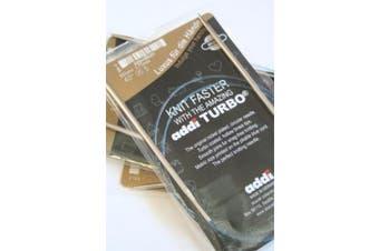 (Size US17/12.0mm) - Addi Turbo Circular Knitting Needles by SKACEL 41cm Size 17