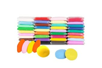 36 Colour Ultra Light Air Dry Clay with Tools DIY Magic Clay as Best Crafts Present for Kids