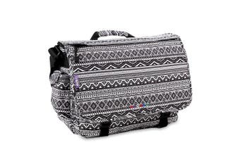 (Tribal) - J World New York Thomas Laptop Messenger Bag, Tribal