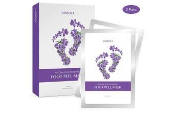 VASSOUL Foot Peel Mask, Feet Callus Remover & Dead Skin Remover, Moisturising and Whitening Feet, Baby Your Feet Naturally