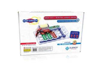 Snap Circuits Digital Logic Gates 100 Exploration Kit | 4-Colour Downloadable Project Manual | 13 Snap Modules | 6 Logic Gates | NOT Gate~AND Gate~OR Gate~NAND Gate~NOR Gate~XOR Gate | STEM Curriculum